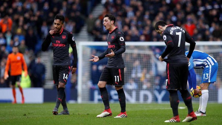 Arsenal Telah Terlihat Lesu Dari Ketika Di Lorong Stadion