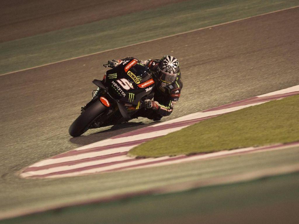 Zarco Tercepat di Hari Terakhir, Rossi Kedua