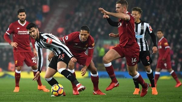 Jelang Liverpool vs Newcastle: Laju Mulus Si Merah di Laga Kandang Boxing Day