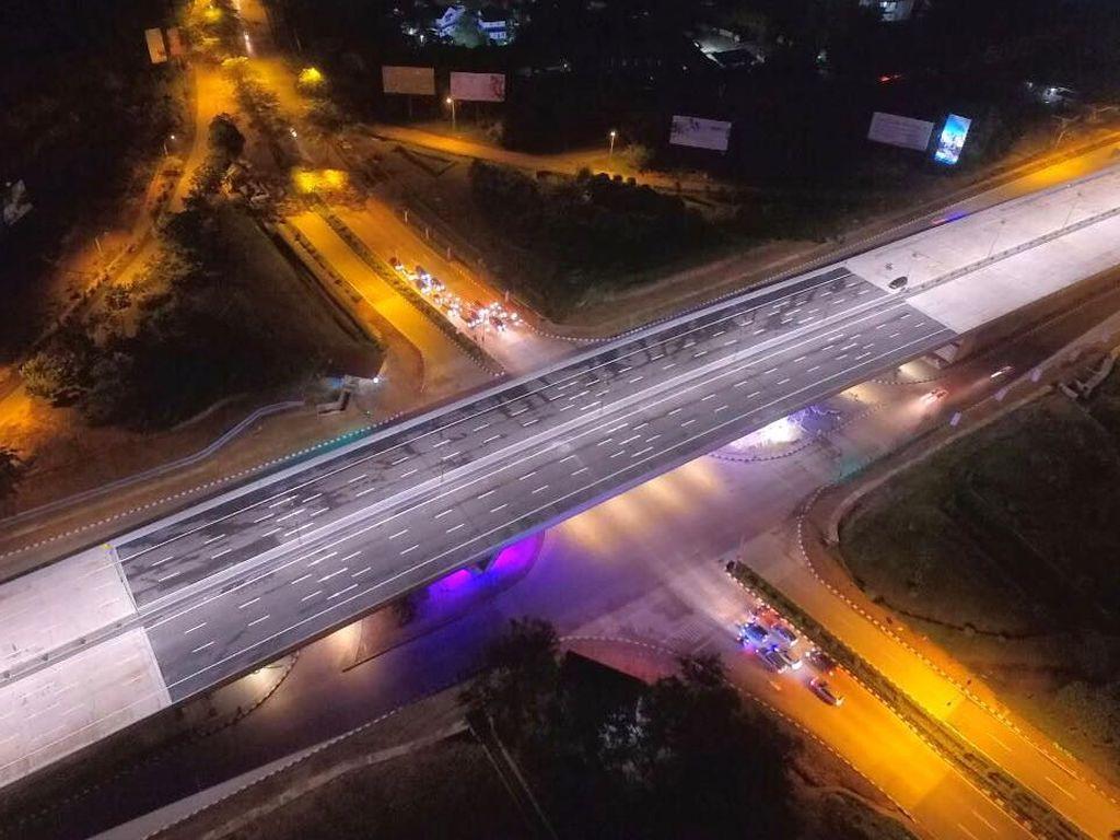 Keren! Begini Indahnya Flyover Laluan Madani di Batam