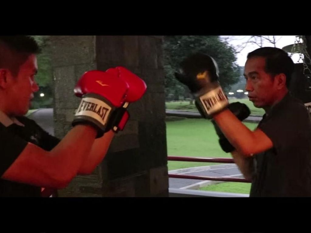 Jokowi Latihan Tinju, Ketum Pertina: Semoga Memacu Semangat Atlet dan Pembina