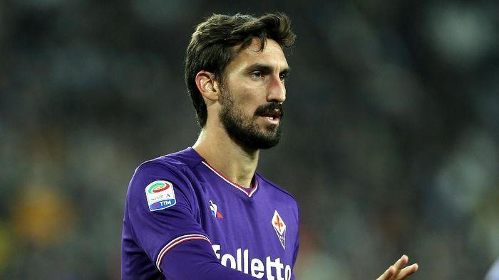Bek sekaligus Kapten Fiorentina Davide Astori meninggal dunia (Gabriele Maltinti/Getty Images)