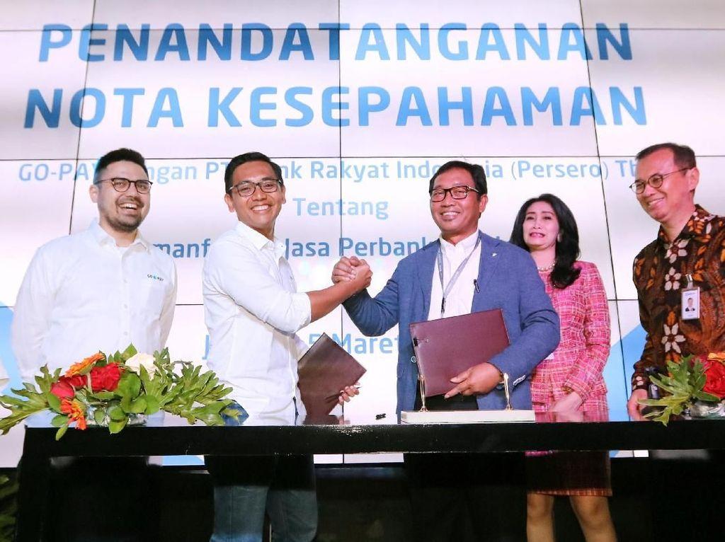 BRI Gaet Go-Pay untuk Tingkatkan Penetrasi Perbankan