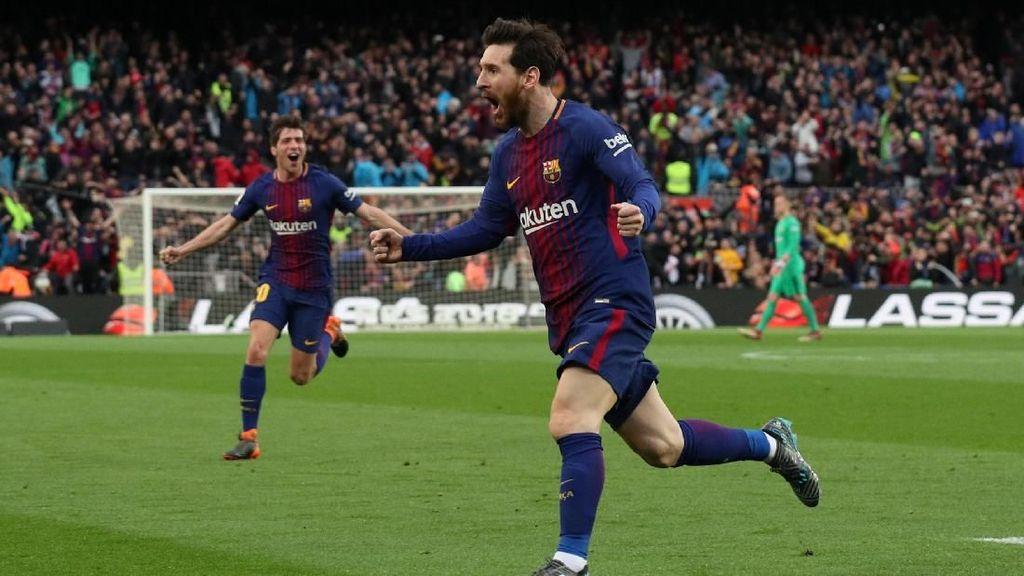 Melihat Lagi Tendangan Bebas Sensasional Messi