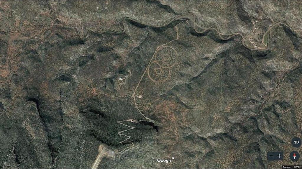 Deretan Penampakan Aneh di Google Earth