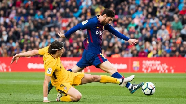 Messi Bawa Barcelona Taklukkan Atletico