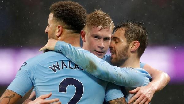City Membidik Banyak Gol di Anfield