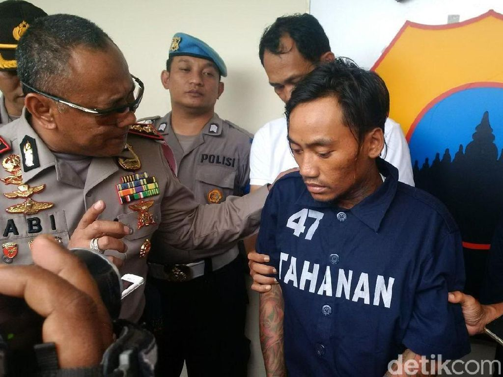 Pembunuh Ibu Rumah Tangga di Semarang Mengaku Bertobat