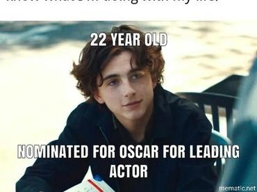 Disaat remaja lainnya masih sibuk tugas, Timothee Chalamet justru sudah masuk dalam nominasi Oscar 2018.(Dok. Ist)