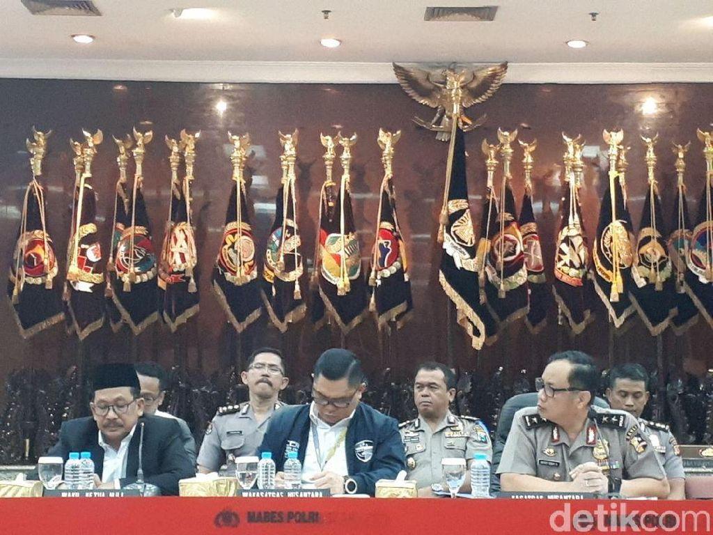 Polri: Ada Eks Saracen dan MCA di Balik Isu Penyerangan Ulama