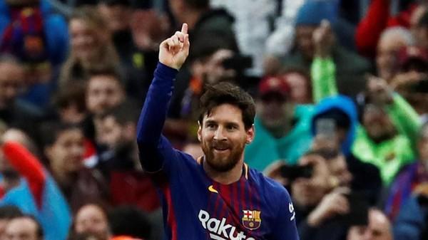 Lionel Messi Sudah 600 Gol