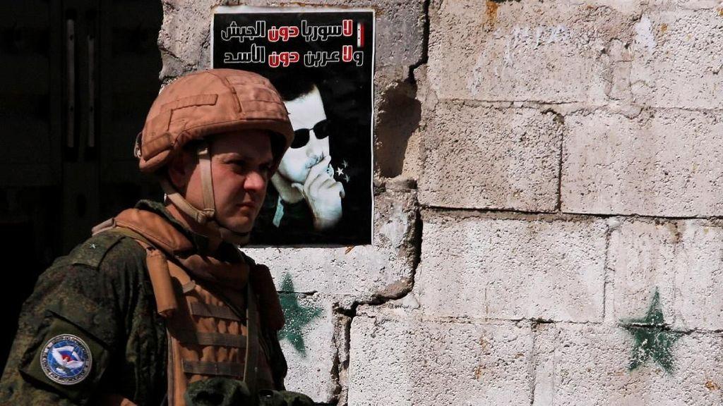 Jejak Tentara Rusia di Perang Suriah