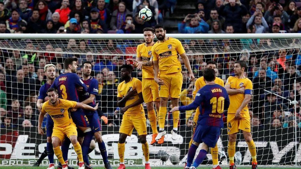 Sederet Analisis Soal Tendangan Bebas Messi yang Mematikan
