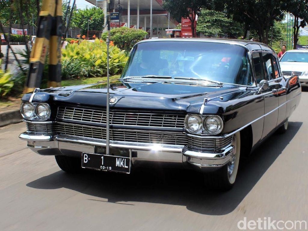 Cadillac Fleetwood Series 75 Limousine, Mobil Dinas Terakhir Bung Karno