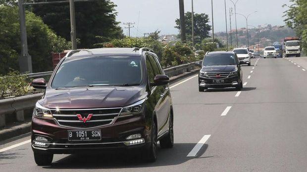 Wuling Cortez diuji coba jurnalis dari Semarang - Solo - Magelang