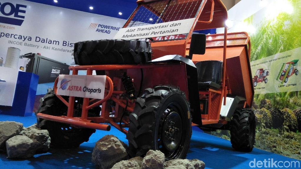 Mobil Perkebunan Buatan Astra Disapa Wintor