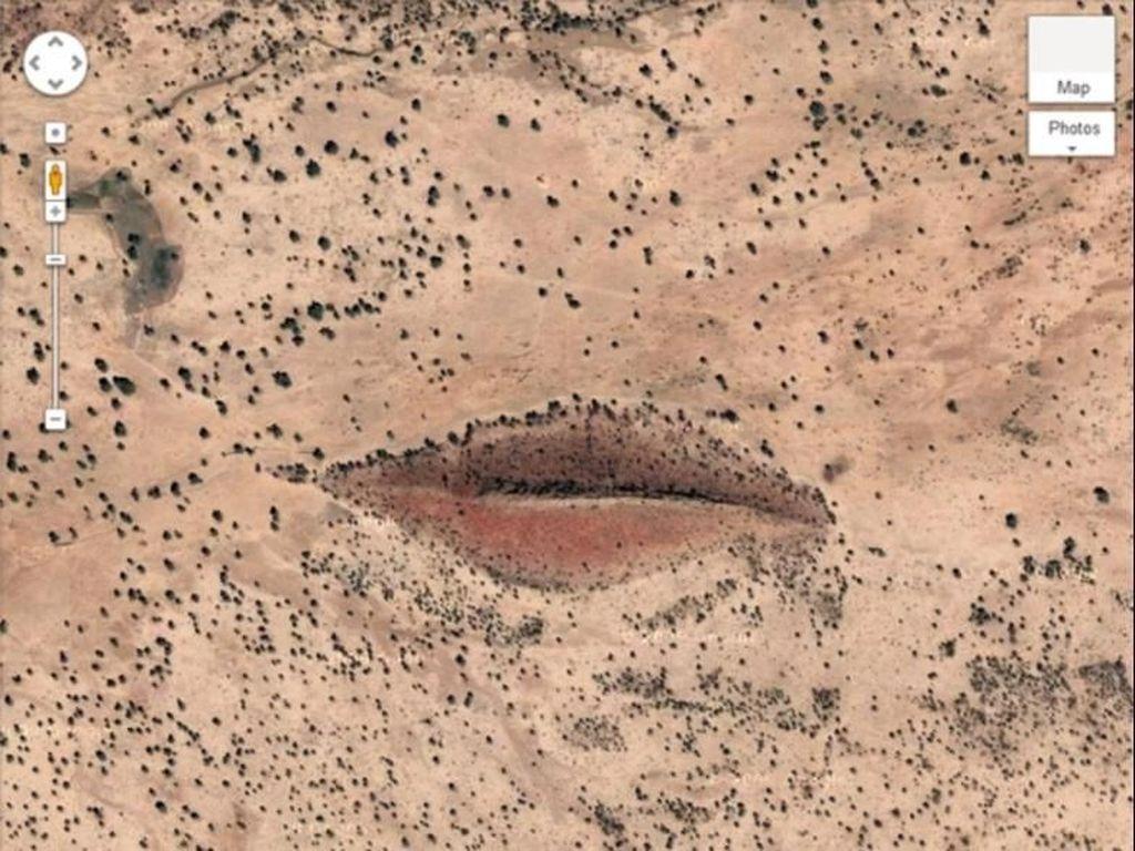 Inilah Tempat Penampakan Bibir Raksasa di Google Earth