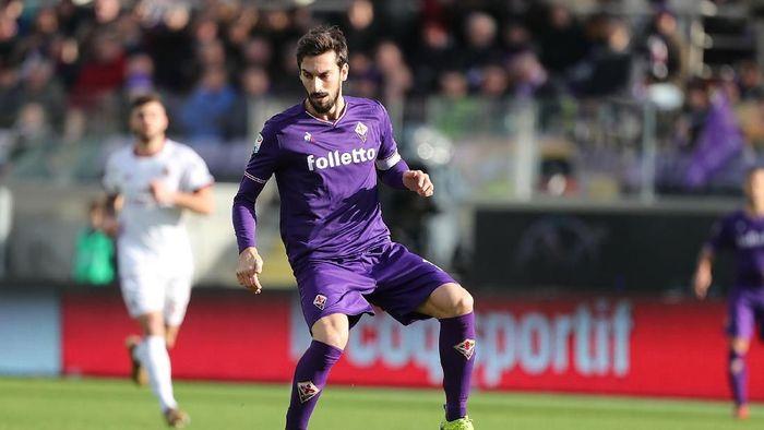 Davide Astori, kapten Fiorentina yang meninggal beberapa jam sebelum pertandingan. (Foto: Gabriele Maltinti/Getty Images)