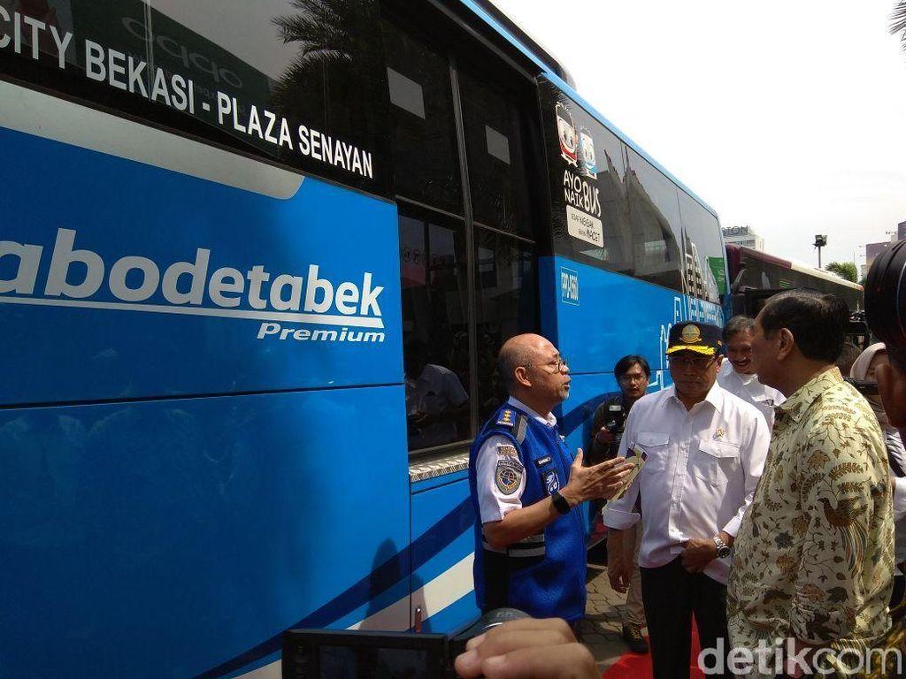 Ada Wi-Fi, Ini Fasilitas Bus Buat Solusi Ganjil-Genap Tol Bekasi