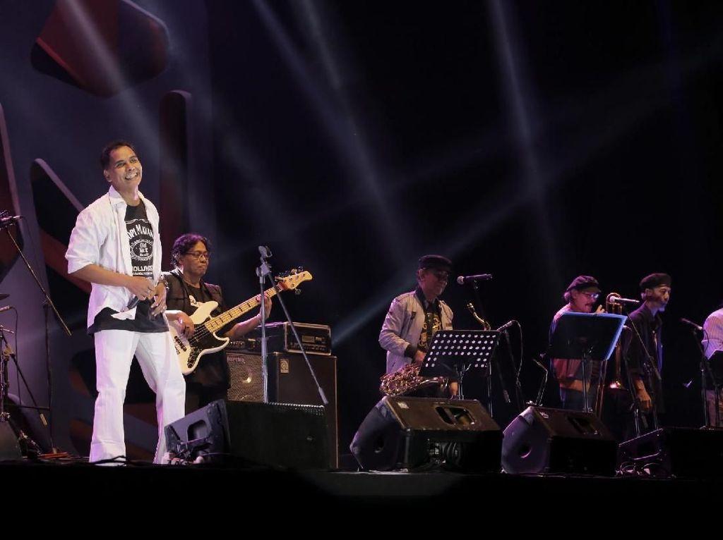 The Rollies Kenang Gito Rollies Lewat Burung Kecil di Java Jazz Festival 2018
