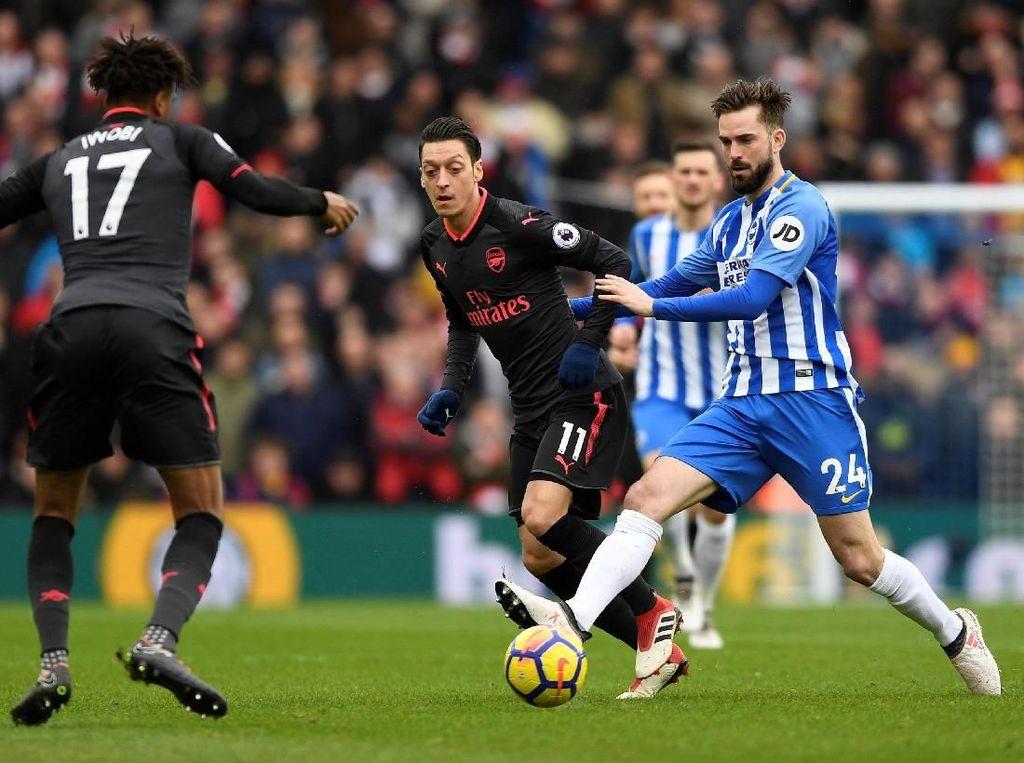 Brighton Menambah Luka Arsenal