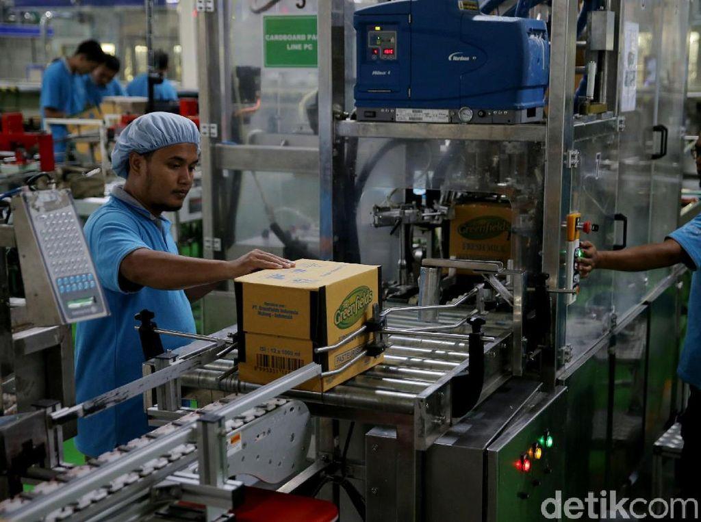 Sektor Industri Sumbang 20% Ekonomi RI