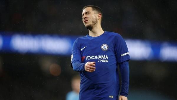 Hazard Ungkap Rasa Frustrasi Usai Dikalahkan City