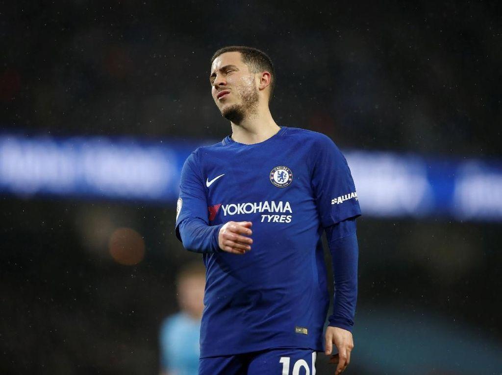 Hazard Tak Puas dengan Performanya di Chelsea