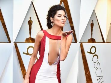Blanca Blanco tak lagi salah kostum.Frazer Harrison/Getty Images.
