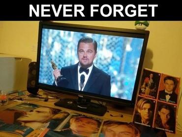 Banyak yang susah move on dengan momen Oscar pertama Leonardo DiCaprio.(Dok. Ist)