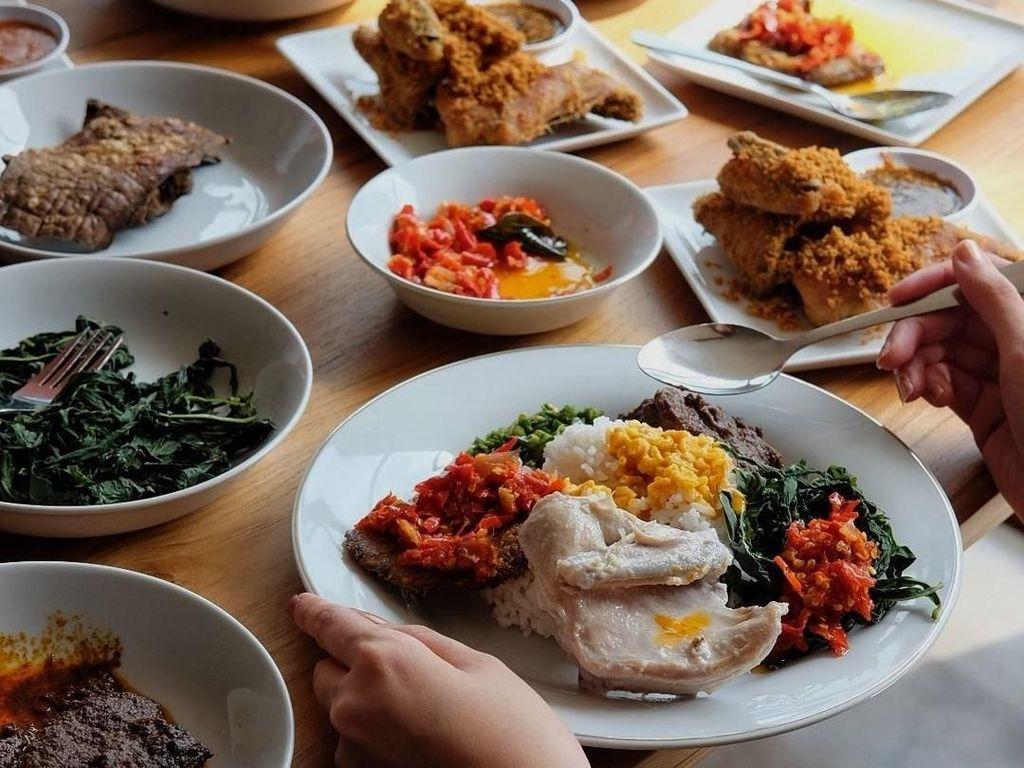 Rekomendasi Menu Nasi Padang yang Sehat dan Rendah Kalori
