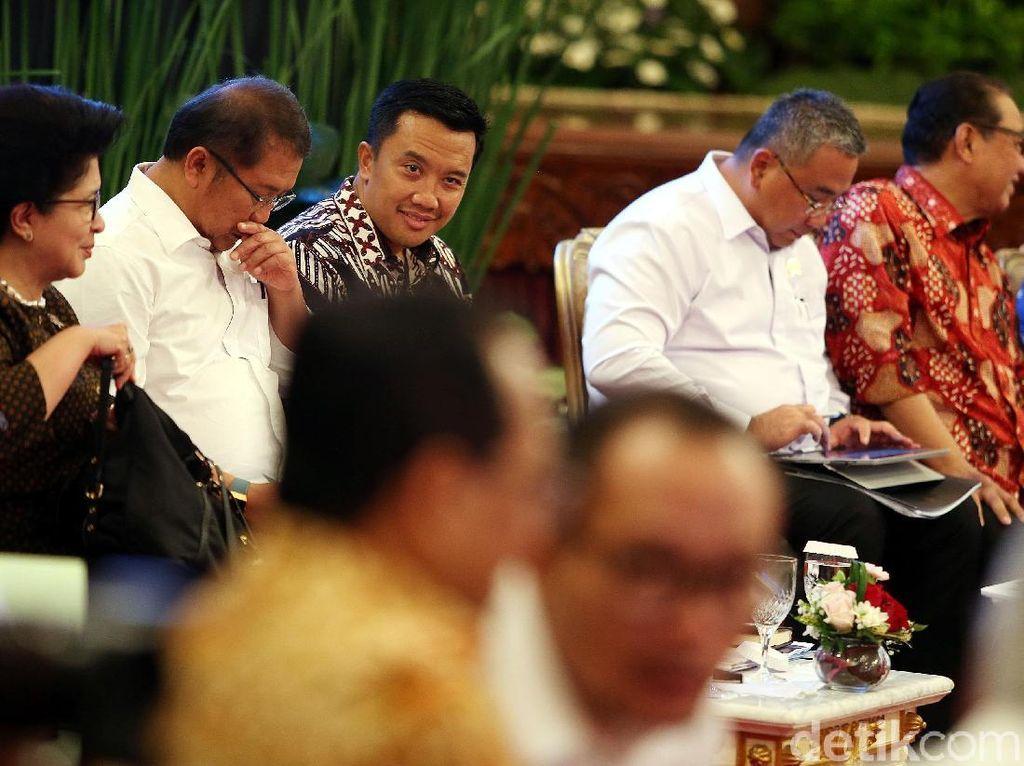 Deretan Menteri di Kampanye Jokowi