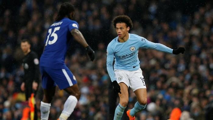 Duel Manchester City vs Chelsea (Foto: Andrew Yates/Reuters)