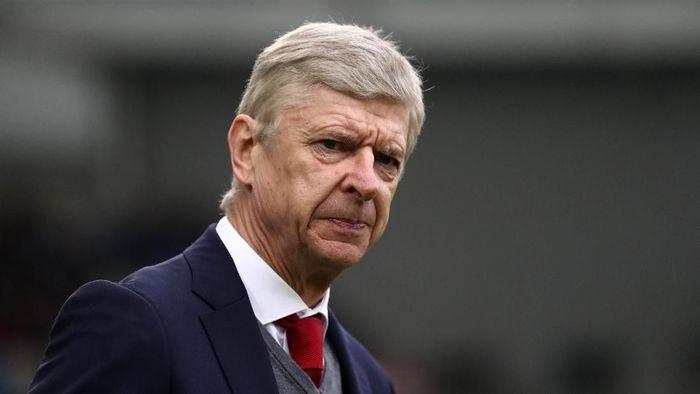 Arsene Wenger mundur dari Arsenal di akhir musim 2017/2018 (Catherine Ivill/Getty Images)
