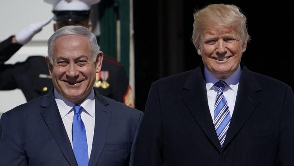 Foto: Hangatnya Pertemuan Trump dan Netanyahu di Gedung Putih