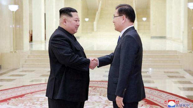 Usai bertemu utusan dari Korsel, Kim Jong-un disebut bersedia dialog dengan AS.