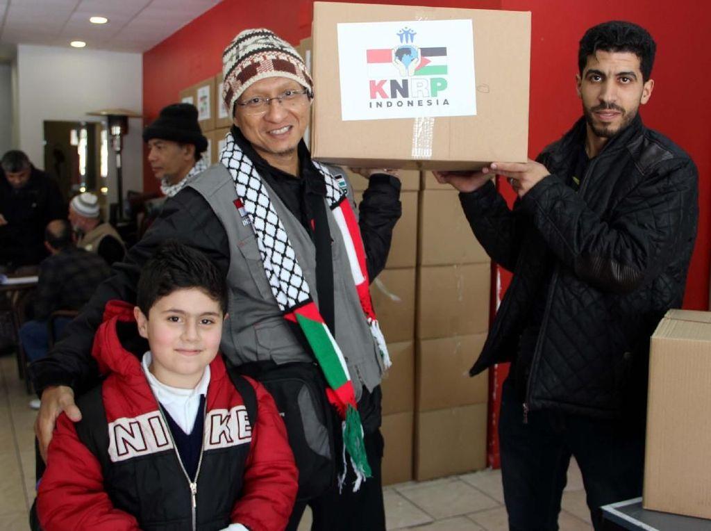 KNRP Salurkan Bantuan Musim Dingin untuk Palestina
