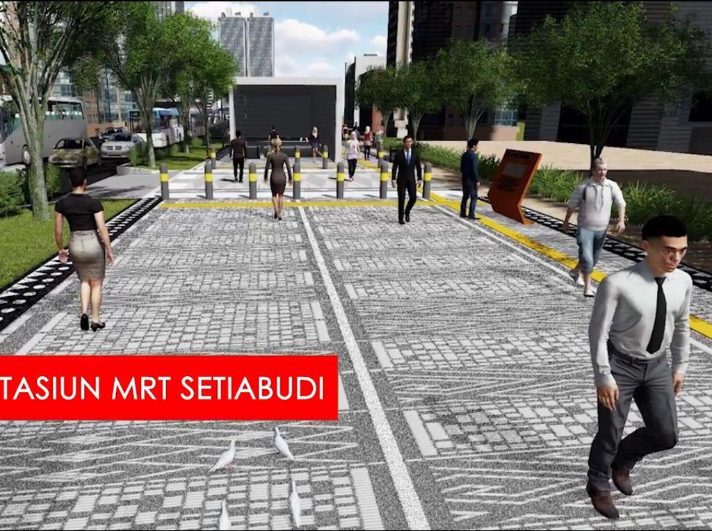 Trotoar Sudirman-Thamrin, Direncanakan Ahok Disempurnakan Anies