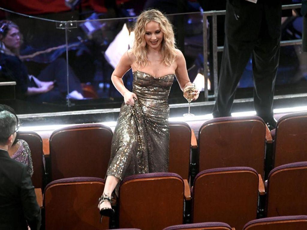 Foto: 15 Momen Kocak dan Konyol Selebriti di Oscars 2018