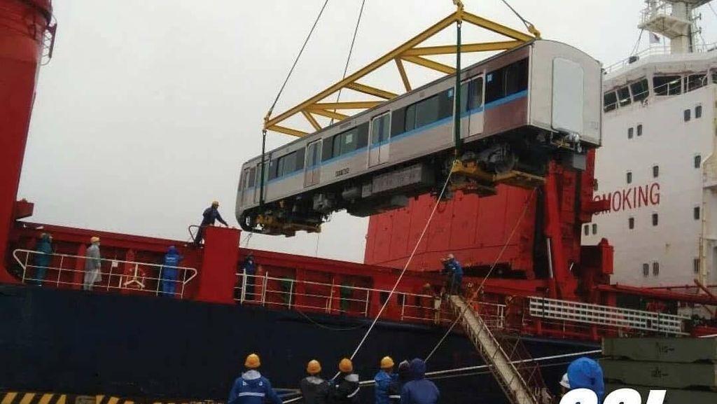 Ini Kereta MRT Jakarta yang Dikirim dari Jepang Besok