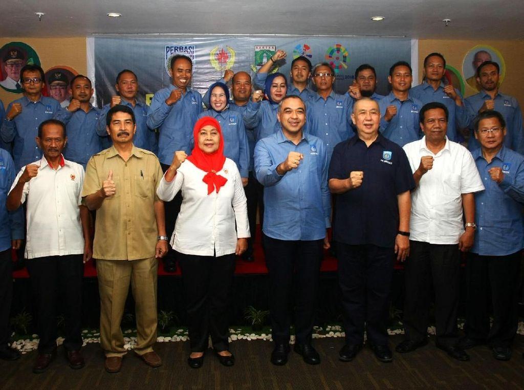 Zaki Iskandar Jadi Ketua Perbasi Banten