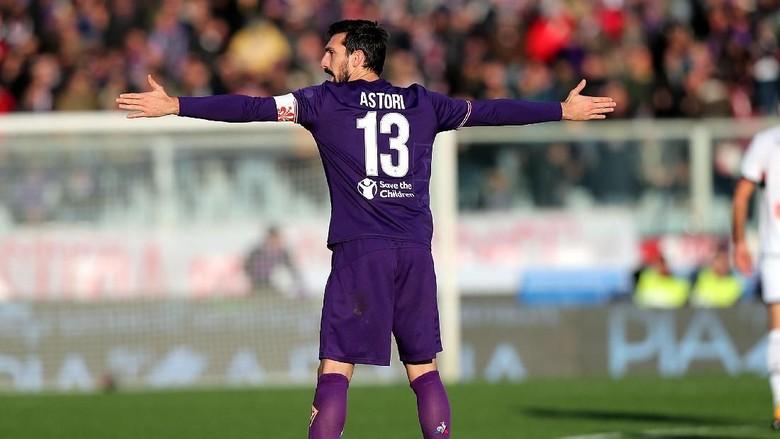 Emblem Spesial Tim-Tim Serie A untuk Mengenang Astori