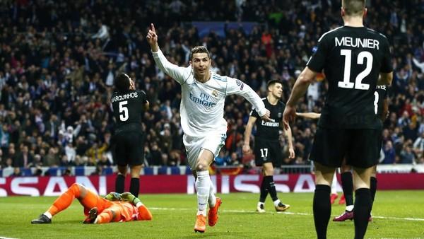 Real Madrid Belum Pernah Takluk dari PSG