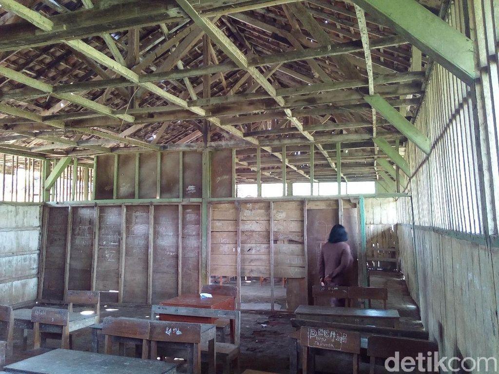 Trenyuh, Seperti Ini Kondisi Bangunan SDN 4 Randurejo di Grobogan