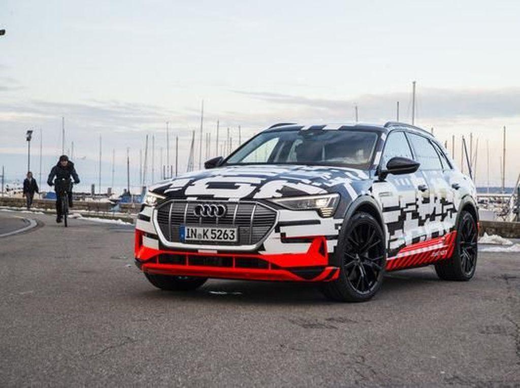 SUV Listrik Masa Depan Audi, e-tron Resmi Diproduksi