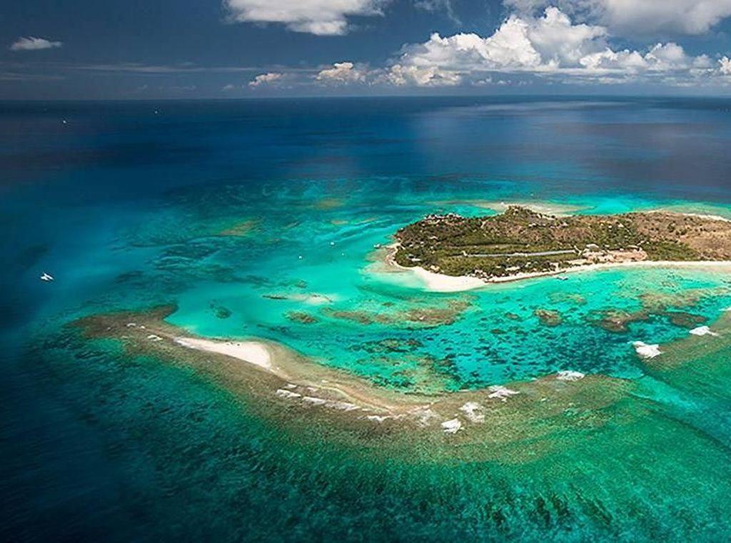 Foto: Lowongan Kerja di Pulau Pribadi Nan Cantik Richard Branson
