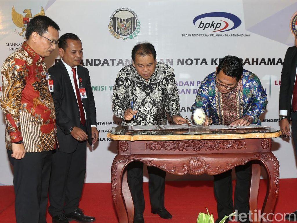 MK Ajak KY, LPSK dan BPKP Bangun Lembaga yang Kuat