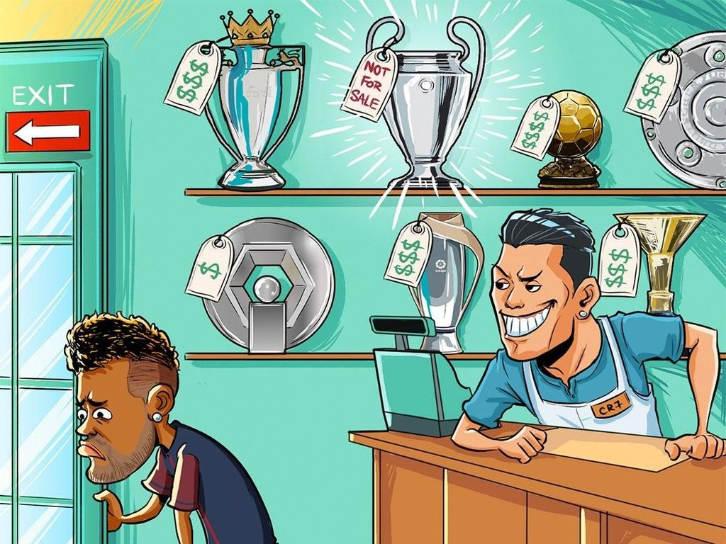 PSG Langsung Dihajar Meme Usai Didepak Madrid