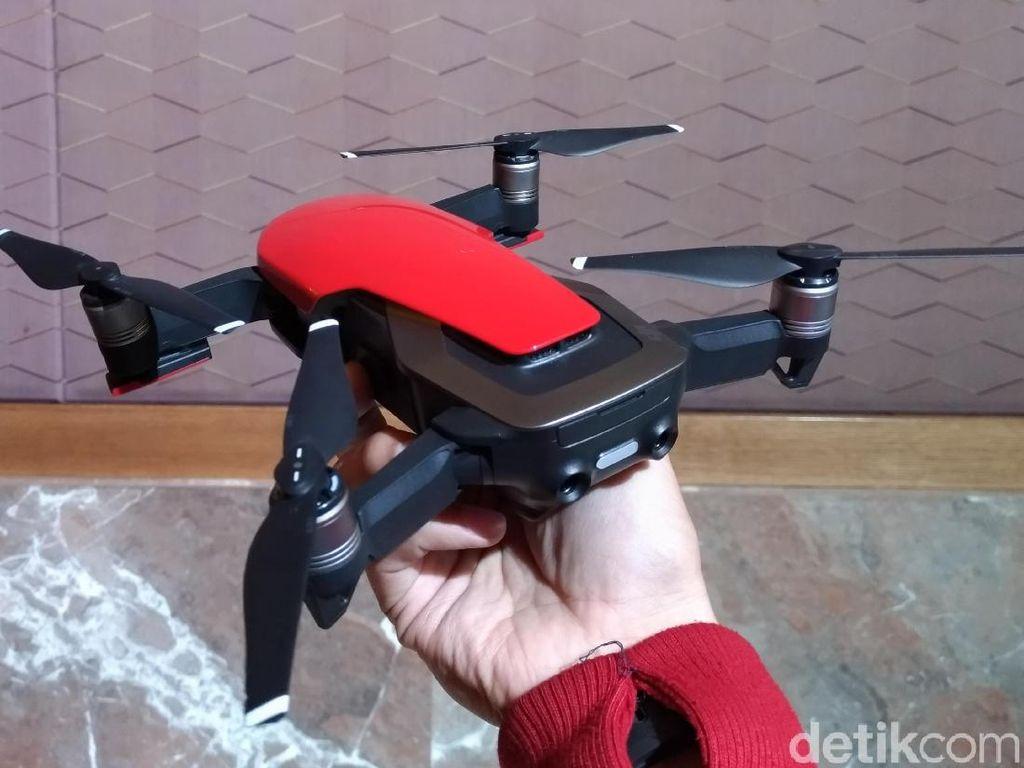 Penampakan Drone Mungil DJI Mavic Air di Indonesia