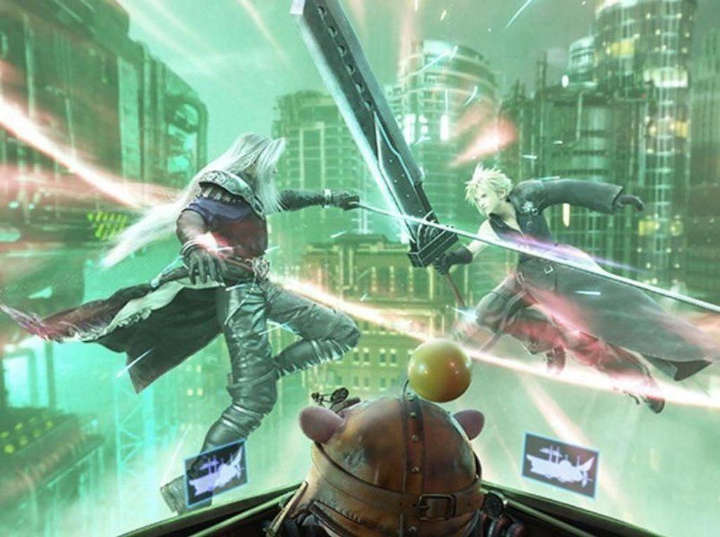 Asyiknya Wahana VR Mengarungi Dunia Final Fantasy